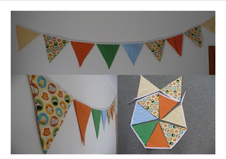 Animal Bunting 9 Flags $20.00