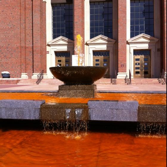 Oklahoma State University, durring homecoming week!