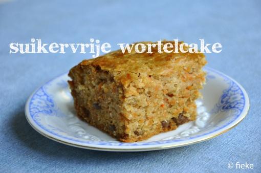 Recept: Wortelcake (suikervrij) #suikervrij #zonder_suiker #bakken #cake