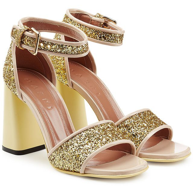 Check out this product: Glitter High Heel Sandals #villoid