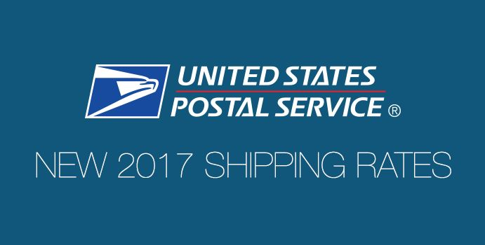 USPS 2017 Shipping Rate Changes: Flat Rate, Priority, First Class, w/ Tables - ShippingEasy