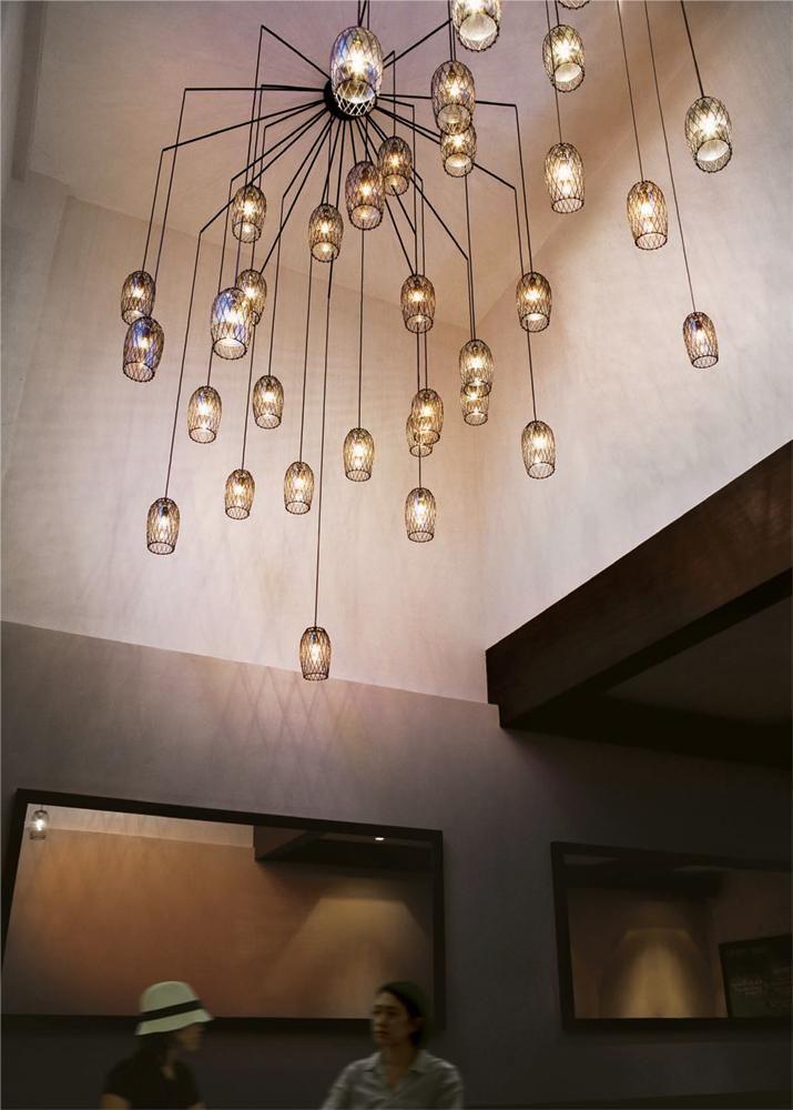 Modern Murano glass chandeliers
