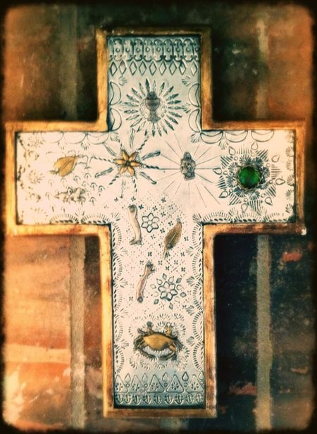 Gracias para Milegroes. this is an iPhoto I shot in my living room of a mexican milegro cross. all editing was done on my rad iPad.