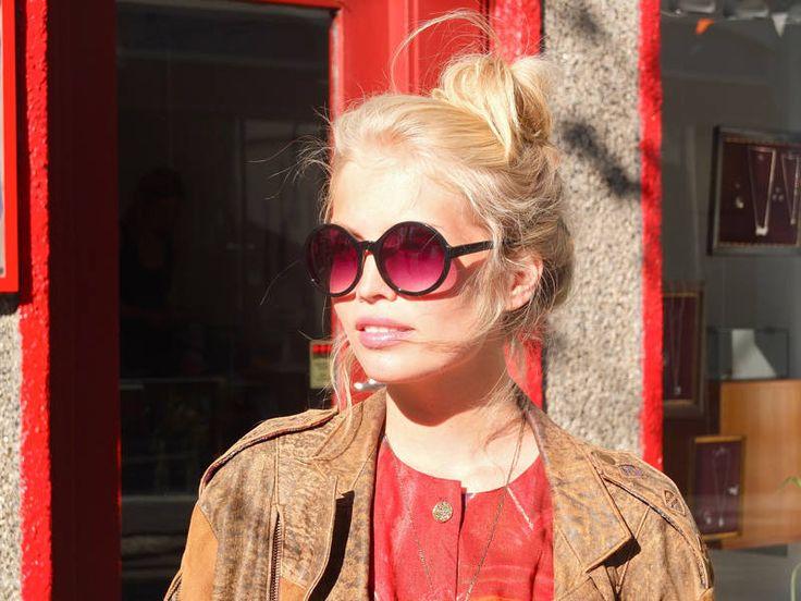 Reykjavik Street Fashion by Facehunter