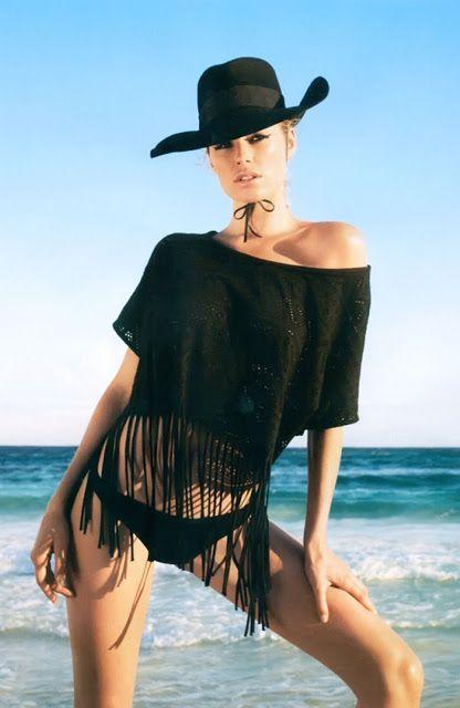 Modaya Dair ♥: Doutzen Kroes'in H&M plaj pozları