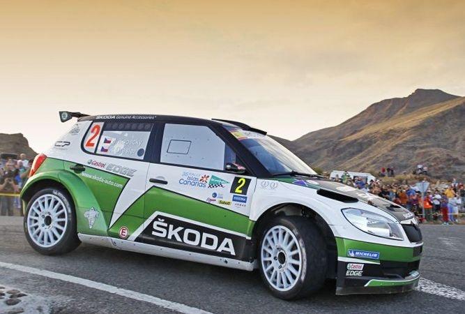IRC: Skoda domina el Rally Islas Canarias