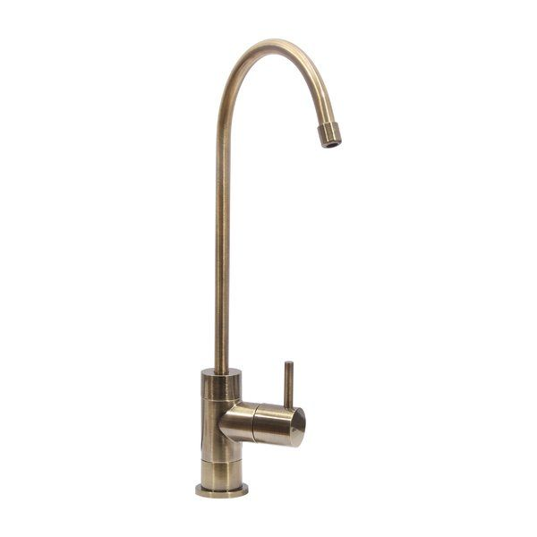 The Dyconn faucet water drinking faucet is optimized for reverse osmosis water filtration systems. Supplement you kitchen decor with the modern design and long-lasting construction of the water drinking faucet. Installation is easy with any RO filtration system that uses PE water tubing. All of Dyconn faucets come with a 3-year manufacturer warranty. Package includes faucet, mounting hardware and installation instructions.
