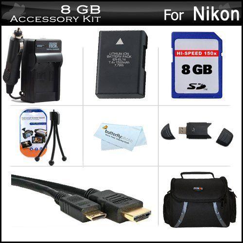 how to find charging life indicator for nikon en-el4