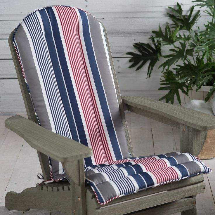 coral coast classic adirondack chair cushion give your adirondack chair a fresh look with the
