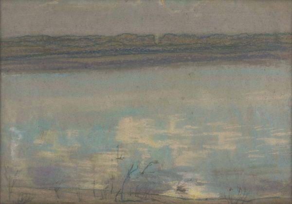Pejzaż z rzeką - Jan Rembowski