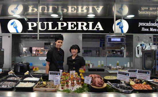 La Pulperia, Mercado Central, Valencia