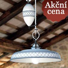 Stropní a stropní stahovací svítidlo Provenza - Kuchyne-Bohemian.cz - samostatné kuchyně a ručně malovaný nábytek