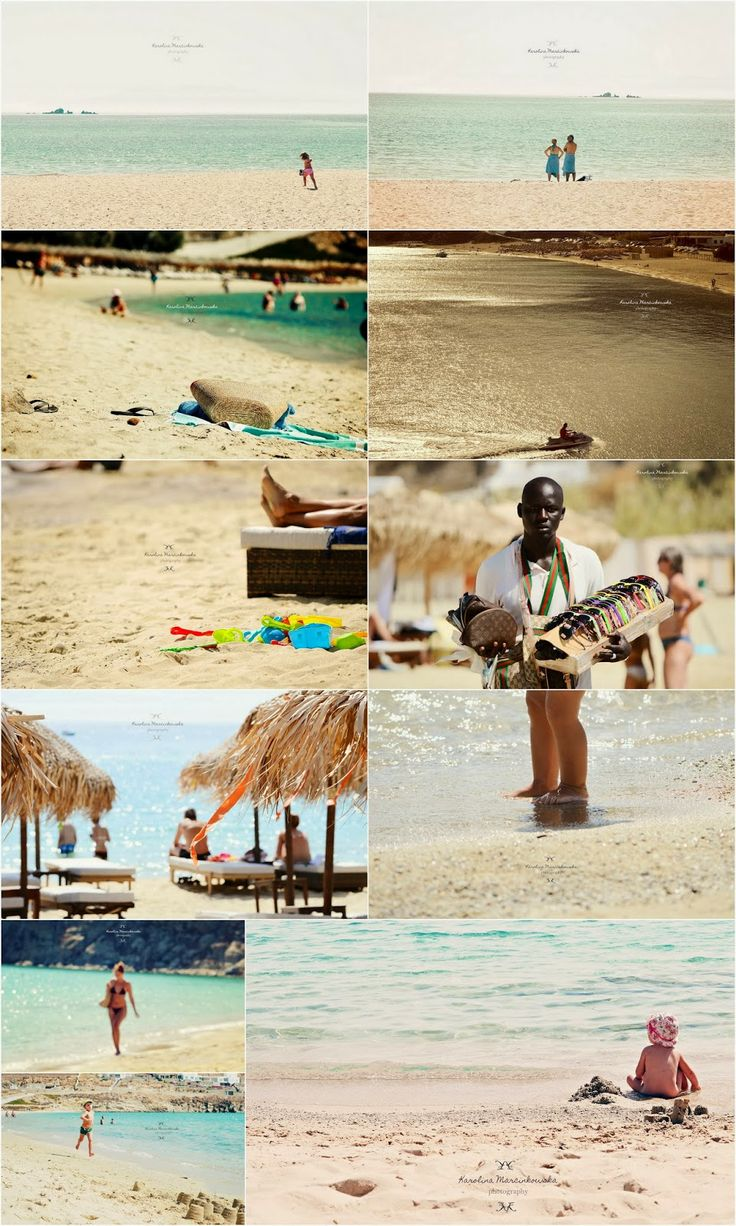 The beach- Greece, Mykonos, summer holidays and memories full of sun and sand!