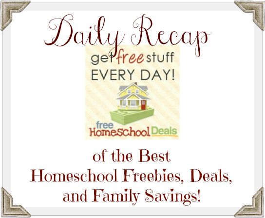 97 best homeschool deals limited time images on pinterest the best homeschool freebies deals and family savings for march 5 2013 fandeluxe Image collections