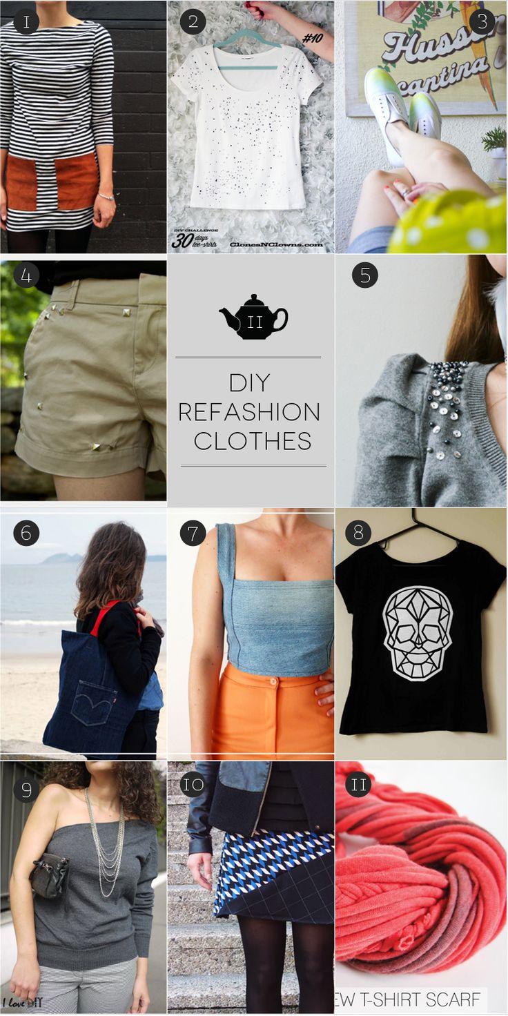 January Craft: #refashion clothes. Rifatevi il guardaroba!