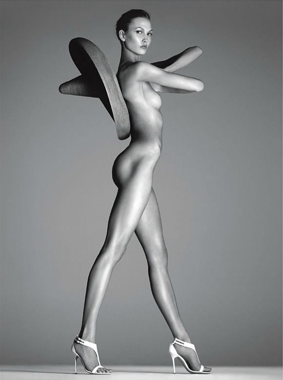 Karlie Kloss    Vogue Italia, Dec. 2011    Photos by Steven Meisel