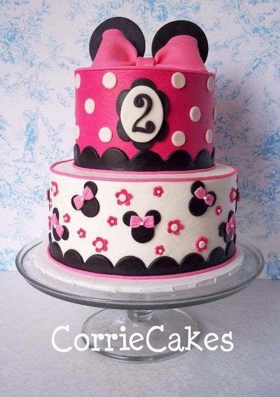 minnie mouse handmade party ideas | Minnie and Micky Mouse Party Ideas / Minnie Mouse Cake