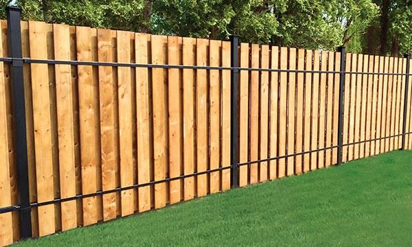 Slip Fencing The Home Depot Canada Landscaping Fence
