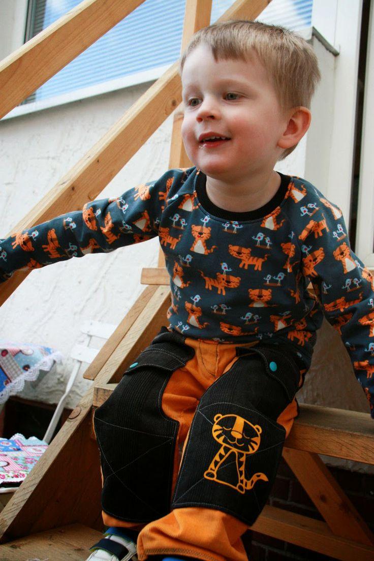 Little Tiger an meinem Neffenkind :)