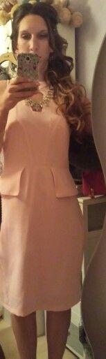 Wedding reception guest dress