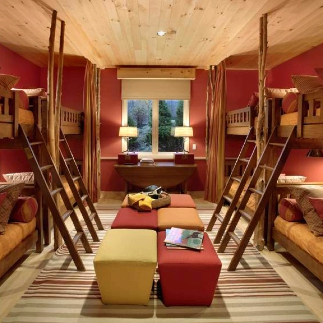 Yes. Wonderful, cozy room for quite a few children XD perfect, with maybe an adjoining playroom?