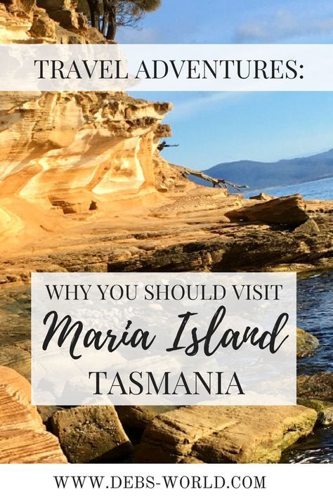 Why you should visit Maria Island, Tasmania, Australia