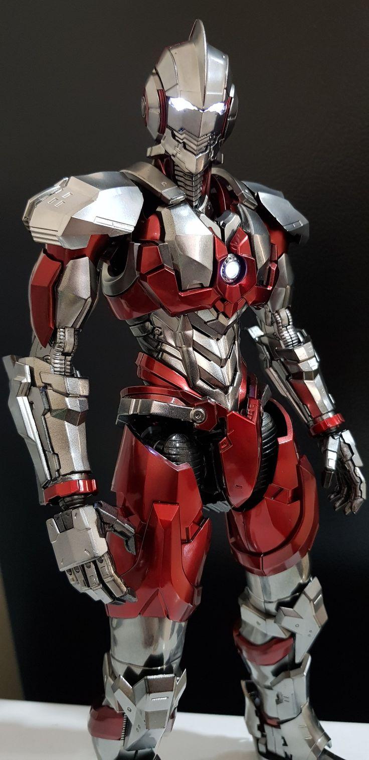 NetFlix Ultraman anime Shinjiro Hayata Fantasy armor