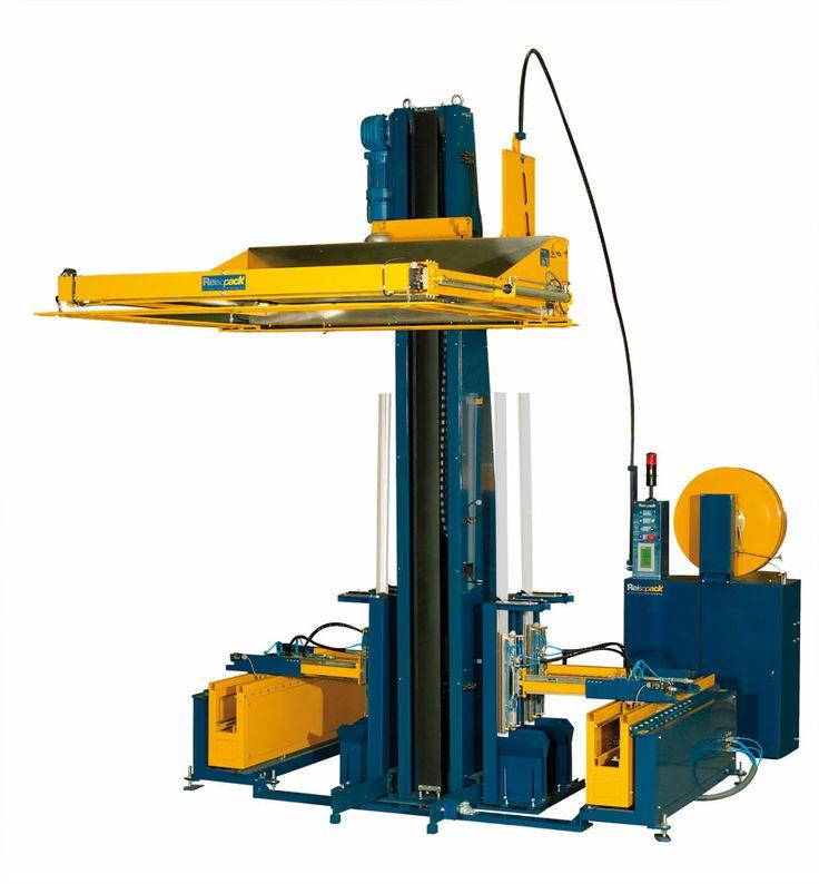 2901. Flejadora automática horizontal con dispensador de cantoneras. El sistema de flejado que te permite eliminar el film estirable.