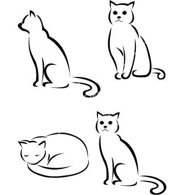 292 best cat dog tattoos images on pinterest tattoo ideas cat tattoos and kitty tattoos. Black Bedroom Furniture Sets. Home Design Ideas