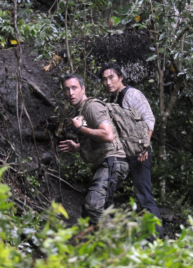 Still of Daniel Dae Kim and Alex O'Loughlin in Hawaii Five-0