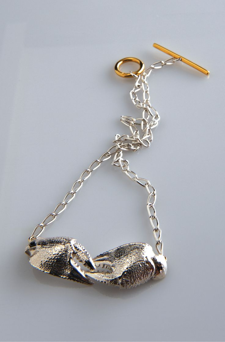 Lucy Folk presents SEAFOOD - 2010 - MUD CRAB NECKLACE