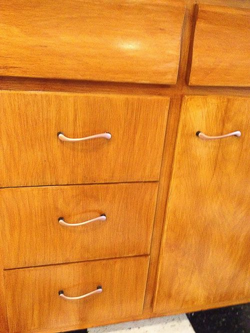 Scheirich Kitchen Cabinets Like Grandma S Vintage Gallery Pinterest The Natural Wood