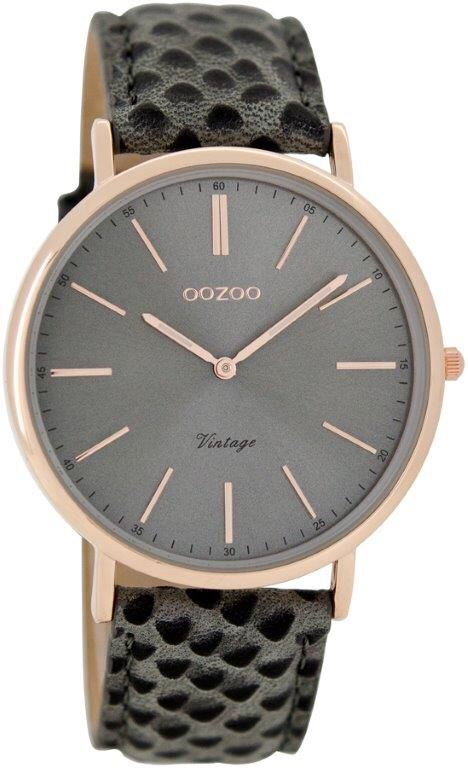 Oozoo timepieces vintage collection(6.7 mm. dun!) De trend deze zomer. Grote collectie bij Chulo dames/herenfashion Roosendaal €49,95