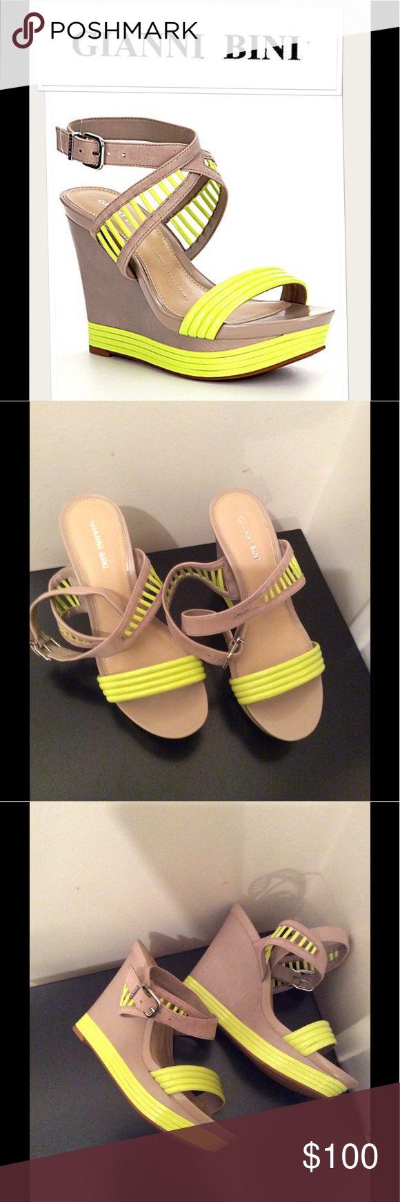 "NEW Gianni Bini ""Barb"" sandals 0725 NEW Gianni Bini ""Barb"" sandal. Gianni Bini Shoes Wedges"
