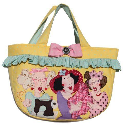 LipGloss Girls Medium Bag- Front., via Flickr.