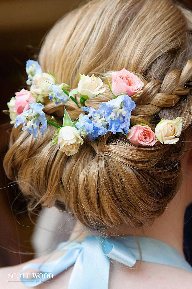 Capturing details form part of the story of your day. These beautiful summer flowers were woven into each bridesmaids hair and suited the vintage chic of the day.