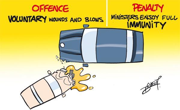 La menace de suspension du permis de conduire et éventuellement d'emprisonnement permettra-t-elle de ramener les automobilistes les plus indisciplinés à la raison ? Permettra-t-elle de protéger la majorité des automobilistes consciencieux contre la témérité d'un petit groupe d'imprudents ? Nous l'espérons de tout cœur. http://j.mp/12k9wyU
