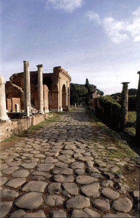 Ostia Antica, Italy