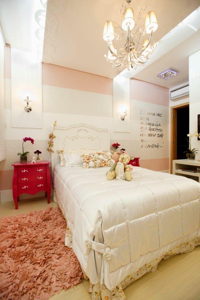 Decor Salteado - Blog de Decoração e Arquitetura : Suíte da menina com estilo provençal e tema de princesa – maravilhosa!