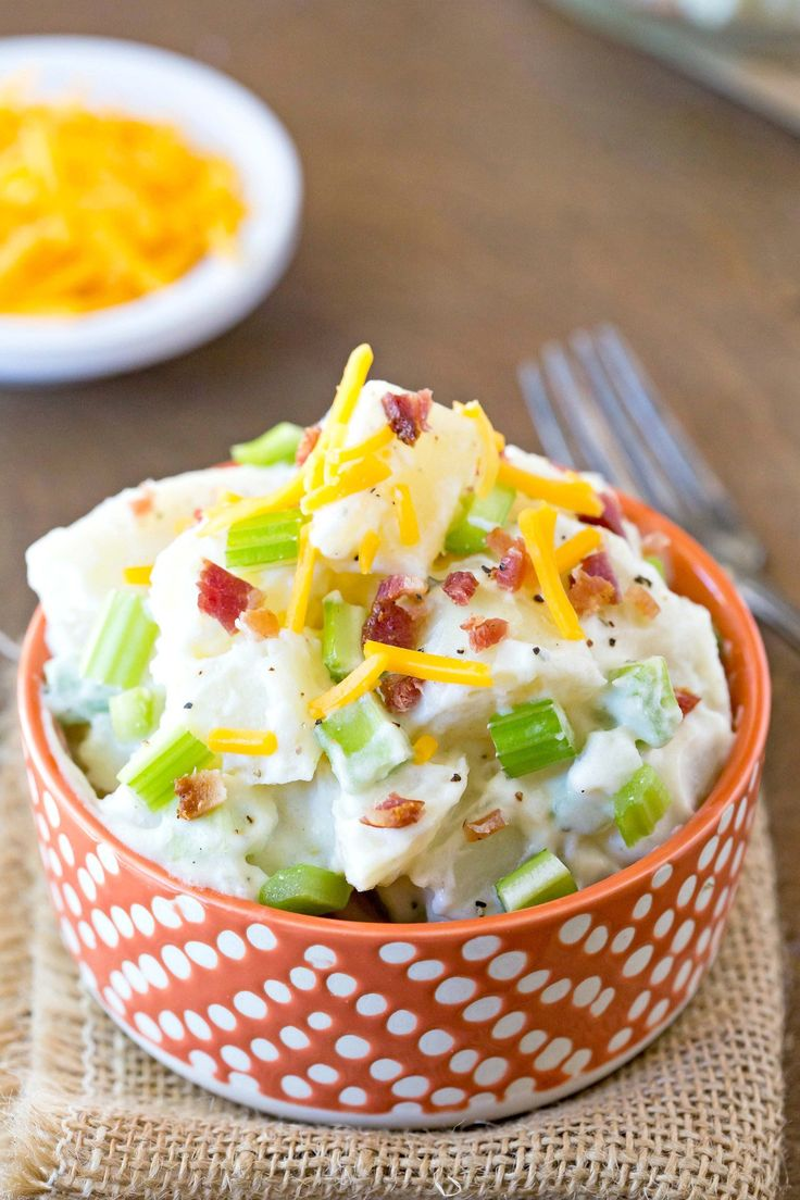 Bacon Cheddar Ranch Potato Salad Recipe - one of the best potato salad recipes I've tried!