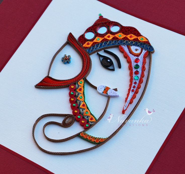 Made to Order Handmade Paper Quilling Lord by NavankaCreations