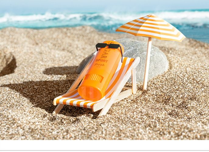 still life | sephora | chilling out in the summertime on the beach