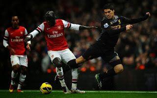 Hasil Pertandingan Liga Inggris Arsenal vs Liverpool,Cazorla,Ramsay Cetak 1 Gol