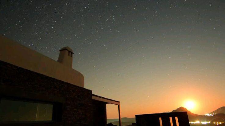 Architectural design by A&T Kontodimas Architects http://kontodimas.com/ #summer #greece #cyclades #sunset #sky #tinos