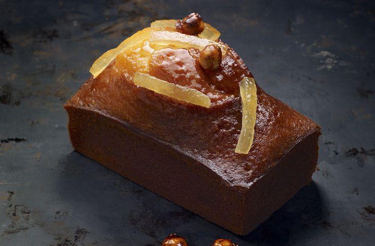 Cake citron noisettes- recette pierre hermé