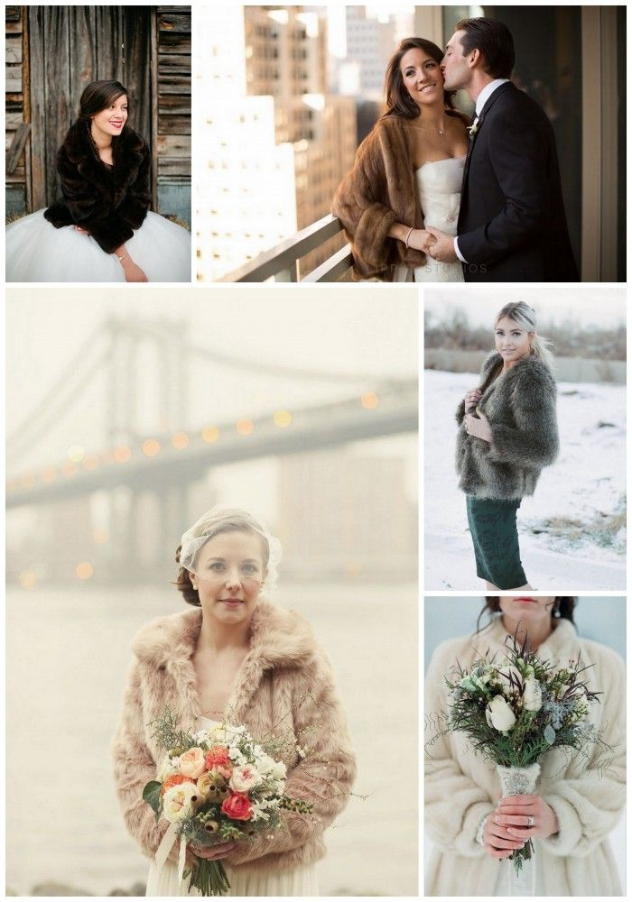 6x Faux Fur Jas | winter bruiloft | bontjas | bruid | Magical Moments blog