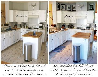 Decorating The Space Above Kitchen Cabinets Cute Home Decor Pinterest Deer Cabinets And