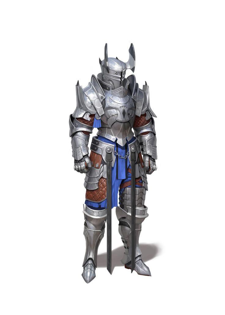ArtStation - Plate armor, Heo Ilhaeng