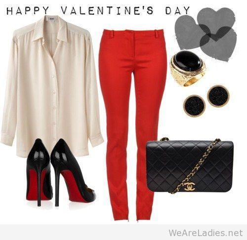 Happy Valentine's day outfit idea on imgfave