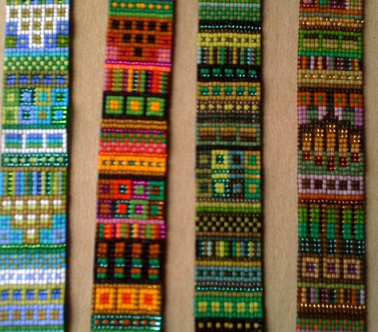 loomed swatches